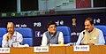 Piyush Goyal addressing a Press Conference on Deendayal Upadhyaya Gram Jyoti Yojana- Rural Electrification Scheme, in New Delhi.jpg