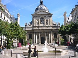 Universiteit Sorbonne in Quartier Latin