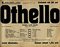 Plakat za predstavo Othello v Narodnem gledališču v Maribor 24. februarja 1940.jpg