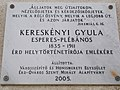 Plaque, Érd-Ófalu Roman Catholic parish house. - Hungary.JPG