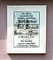 Plaque (Assassination attempt, Bismarck, Bad Kissingen) 2014.JPG