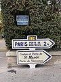 Plaque Avenue Général Gaulle Panneaux Michelin Direction Avenue Général Gaulle - Saint-Mandé (FR94) - 2020-10-16 - 1.jpg