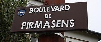 Poissy - Boulevard de Pirmasens in Poissy