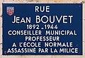 Plaque Rue Jean Bouvet - Mâcon (FR71) - 2021-03-01 - 1.jpg