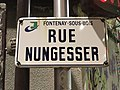 Plaque rue Nungesser Fontenay Bois 1.jpg