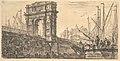 Plate 28- Arch of Trajan in Ancona (Arco di Trajano in Ancona) MET DP827961.jpg