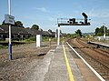 Platform 9 & main line, Newton Abbot railway station, South Devon.jpg