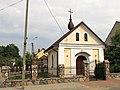 Podlaskie - Wizna - Wizna - Jana Pawła II - Kaplica - Front;lewo - v-ESE.jpg