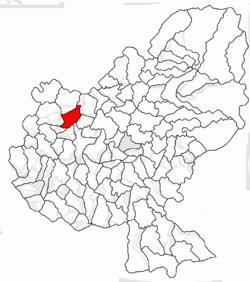 Vị trí của Pogaceaua