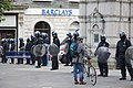 Police near Barclays, Lewisham, during 2011 riots.jpg