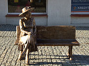 pomnik Hanki Bielickiej w Łomży