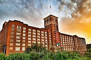 Gentrification of Atlanta - Ponce City Market, being repurposed for mixed use in Old Fourth Ward