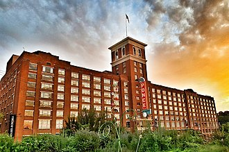 Ponce City Market - Ponce City Market under renovation in May 2012