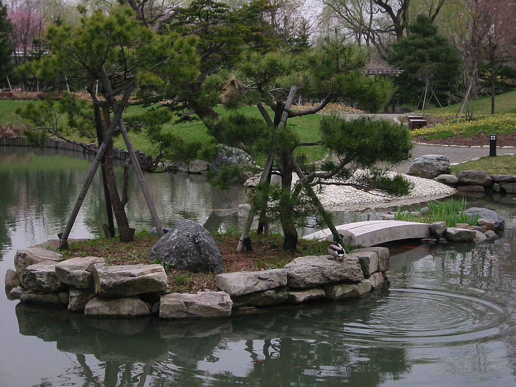 Pond in Nakajima Koen Park, Sapporo - panoramio