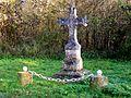 Pontarmé (60), croix de Pontarmé, carrefour de la croix de Pontarmé, RD 1017.jpg
