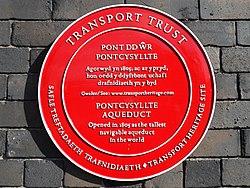 Pontcysyllte aqueduct (transport trust)