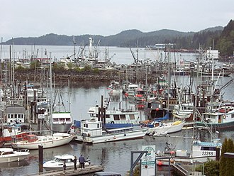 Port Hardy - Harbour of Port Hardy