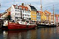Port de Copenhague . vieux bateaux.jpg