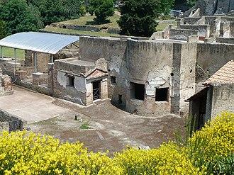 Suburban Baths (Pompeii) - Suburban baths near the Porta Marina