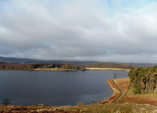 Portmore loch from the lower slopes of Loch Hill - geograph.org.uk - 2295211