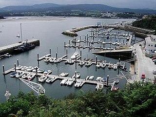 Ribadeo Municipality in Galicia, Spain