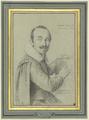 Porträt des Mosaikarbeiters zu Cénto, Marcello Provencale (SM 485z).png