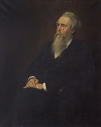 Edward Byles Cowell - Portrait of Edward Byles Cowell by Charles Edmund Brock, 1895.
