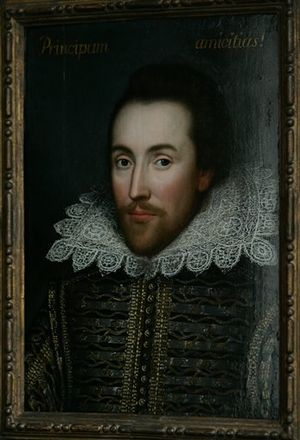 portrait of William Shakespeare - the so calle...
