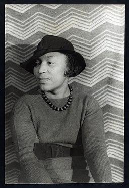 Portrait of Zora Neale Hurston LCCN2004663047