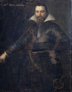 Portret van Bartholomeus Andrio Walsdorffer (?-1622) Rijksmuseum SK-A-1230