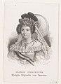 Portret van Maria Christina van Bourbon-Sicilië als Koningin-regentes van Spanje, RP-P-1905-1384.jpg