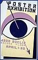Poster exhibition, 4300 Euclid, second floor LCCN98517127.jpg