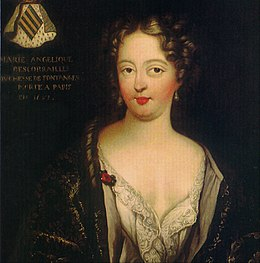Posthumous portrait of Marie Angélique de Scorailles, Duchess of Fontanges by an unknown artist.jpg