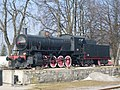 Postojna-steam locomotive FS 740.121-from platform.jpg