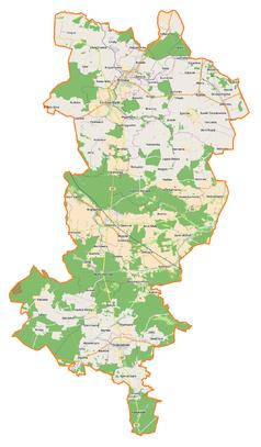 Mapa lokalizacyjna powiatu oleskiego