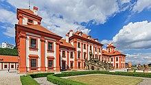 Im Prager Schloss Troja wohnte Stein während seines Exils von 1810 bis 1812. (Quelle: Wikimedia)
