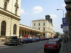 Železniční stanice Praha Masarykovo nádraží