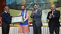 Prakash Javadekar presented the best ENVIS center awards, at the National Interaction-cum-evaluation workshop for Environmental Information System (ENVIS) centres, in New Delhi (1).jpg