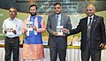 Prakash Javadekar releasing the book 'Ecological Traditional of India Gujarat', at the National Interaction-cum-evaluation workshop for Environmental Information System (ENVIS) centres, in New Delhi.jpg