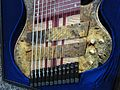 Prat Basses Reverse 12 string bass body, 2010 Summer NAMM.jpg