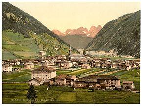Predazzo tra il 1890 e il 1900