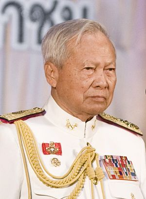 Lists of state leaders by age - Image: Prem Tinsulanonda (Cropped)