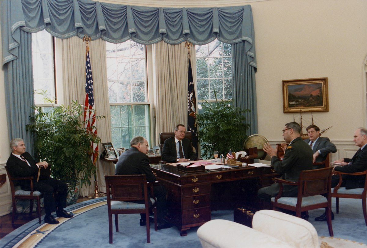 Oval Office Bush Images Galleries