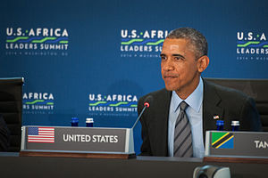United States–Africa Leaders Summit - Obama Delivers remarks.