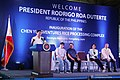 President Rodrigo Roa Duterte delivers his speech during the inauguration of the Chen Yi Agventures Rice Processing Complex (02).jpg