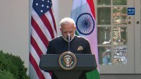 File:President Trump Gives Joint Statements with Prime Minister Modi in the Rose Garden.webm