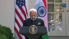 Arquivo: Presidente Trump dá declarações conjuntas com o primeiro-ministro Modi no Rose Garden.webm