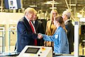 President Trump Tours the Apple Manufacturing Plant (49100681262).jpg
