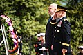 Prime Minister of the Republic of Albania lays a wreath at the Tomb of the Unknown Soldier in Arlington National Cemetery (26320245802).jpg
