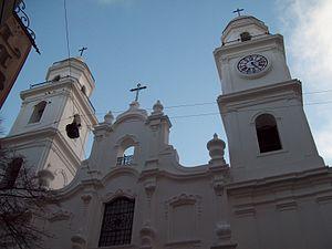 Saint Ignatius Church (Buenos Aires) - Image: Primera Iglesia de Buenos Aires